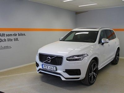 begagnad Volvo XC90 T8 AWD Geartronic R-Design 7-sits -19
