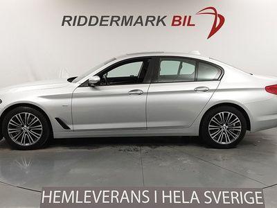 begagnad BMW 520 d xDrive Sedan Sport line Taklucka Drag EU6 190hk
