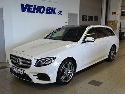 begagnad Mercedes E220 d 4MATIC 9G-Tronic/AMG Line/Parkeringsvärmare/Dragkrok/I