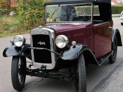 begagnad Austin Mini Cabriolet modell: Opal 12hk