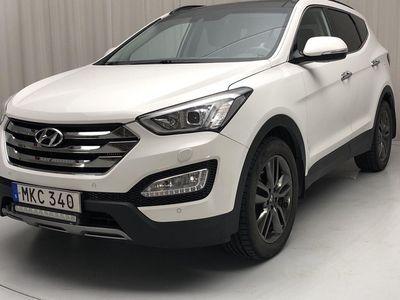 begagnad Hyundai Santa Fe Fé 2.2 CRDi-R 4WD (197hk)