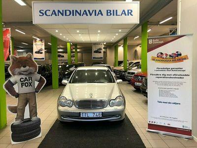 begagnad Mercedes C240 Auto 170HK LÅG MIL VÄLVÅRDAD