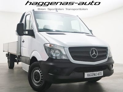 begagnad Mercedes Sprinter 316 Pickup / 163hk / Bluetooth