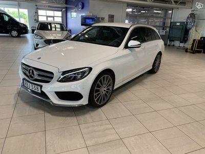 begagnad Mercedes C220 d 4MATIC Kombi, AMG paket, Dragkrok
