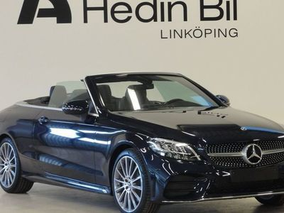 begagnad Mercedes C200 Cab AMG Navigation Backkamera Större mediedisplay Parktronic