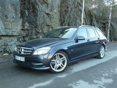 begagnad Mercedes C250 CDI 4MATIC AMG Svensksåld 2äg GPS Skinn