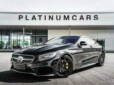 begagnad Mercedes S560 S BenzCoupe NightVision Magic Sky 2017, Sedan Pris 929 000 kr