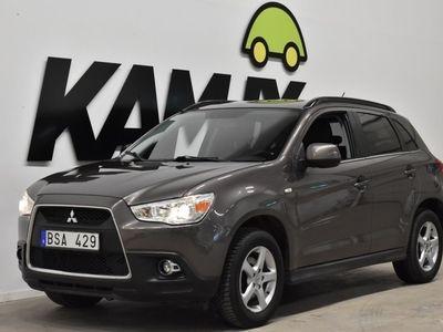 begagnad Mitsubishi ASX 1.8 Di-D+ Skinn Drag S&V-Hjul (150hk)