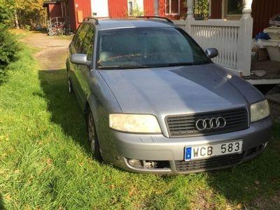begagnad Audi A6 1,8t för den händige/reservdelsbil