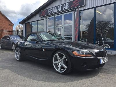 "used BMW Z4 2,2 / 170hk aut 19"" -04"