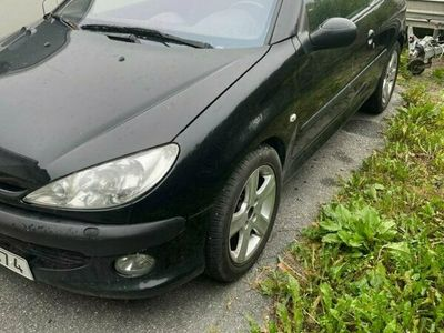 begagnad Peugeot 206 CC 1,6