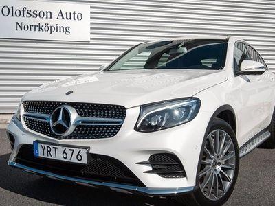 begagnad Mercedes E250 GLC Benz d 4Matic Coupé AMG Värmare Drag Navi 2018, SUV 469 000 kr