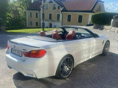 begagnad BMW M4 Competition cab, fri service