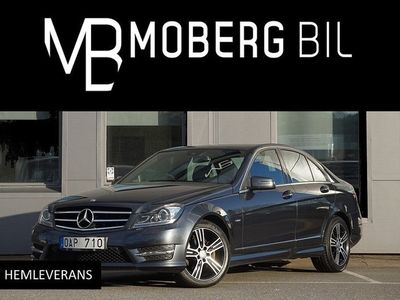 begagnad Mercedes C200 CDI 136hk Aut AMG Final Edition