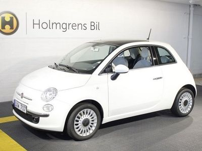 begagnad Fiat 500 1.2 Lounge 1 ägare & låga mil
