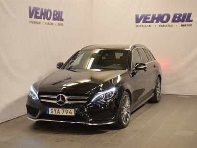 begagnad Mercedes C220 Bluetec AMG Kombi Värmare Aut Drag Nav ILS