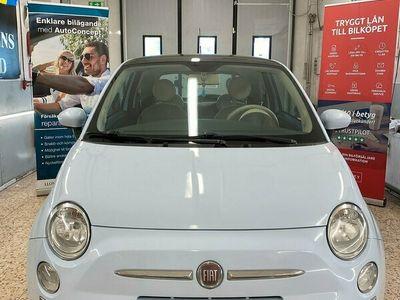 begagnad Fiat 500 1.2 Lounge 69hk