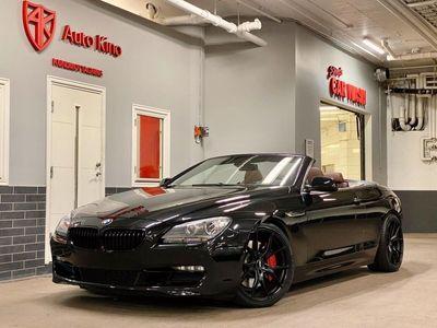 begagnad BMW 650 Cabriolet i Steptronic Black Optik 408hk