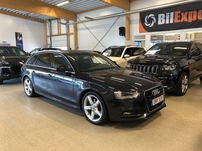 begagnad Audi A4 2,0 TDI 190HK Q AUT EU6 S-LINE NAV SV -15