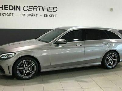 begagnad Mercedes C200 - BenzD KOMBI AUTOMAT VÄRMARE / GPS / BACKKAMERA / DRAGKROK