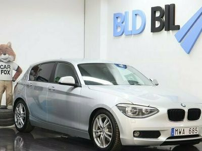 begagnad BMW 116 d AUX NYSERVAD PDC ISOFIX NYBES116HK