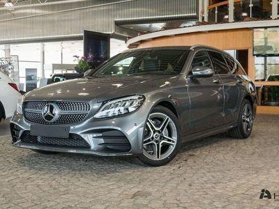 brugt Mercedes C220 d 4MATIC // AMG Line // DEMOBIL