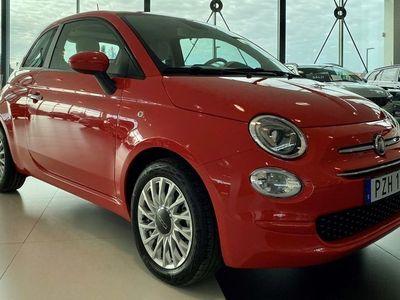 begagnad Fiat 500 *NYHET!MILD HYBRID!* LOUNGE 1.0 70HK BSG SERIE8 MY20