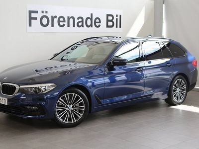 begagnad BMW 530 i xDrive Touring xDriveSport Line Aut Navi Dragkrok