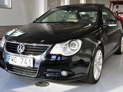 begagnad VW Eos 2.0TFSI 200HK DSG-LÅDA HARDTOP -08