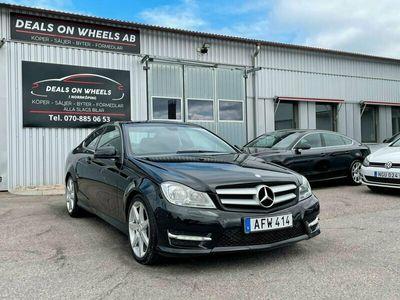 begagnad Mercedes C220 CDI Coupé 7G-Tronic Plus AMG Sport 170hk