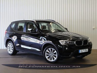 begagnad BMW X3 20d xDrive Steptronic 190hk