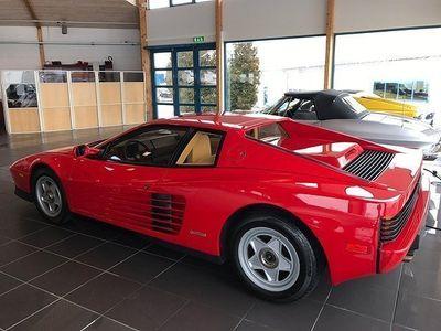 begagnad Ferrari Testarossa * OBS: 1780 MIL * -87
