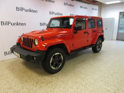 begagnad Jeep Wrangler Unlimited 3,6 290hk X-Edition