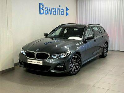 begagnad BMW 320 d xDrive Touring M-Sport Värmare Drag Nav Nypris 522 500 Kr