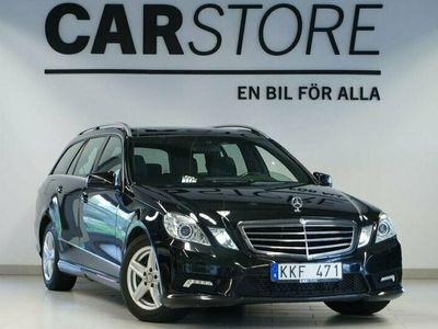 begagnad Mercedes E220 CDI T AMG Panorama Värmare El-baklucka