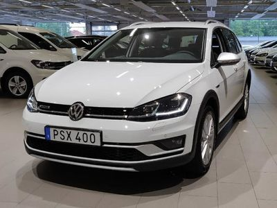 begagnad VW Golf Alltrack SC TDI 184 DSG7