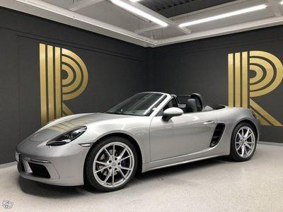 "gebraucht Porsche 718 Boxster (300hk) 20"" S / Sv-såld / GT-silver"