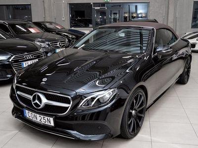 begagnad Mercedes E200 Cabriolet Euro 6 184hk
