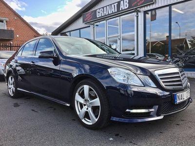 begagnad Mercedes 220 E-KlassCDI BlueE AUT AMG STYLING 170HK