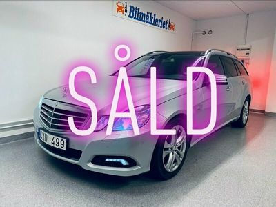 begagnad Mercedes E350 BlueEFFICIENCY 7G-Tronic 292hk 0:- kont