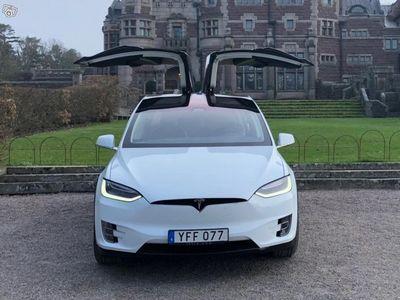 begagnad Tesla Model X 90D med fri Supercharging -17