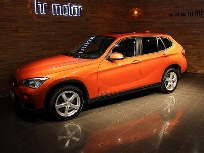 begagnad BMW X1 20D sDrive Sportline Facelift/ Nav/ Panorama/ Skinn/ 3 Års ga