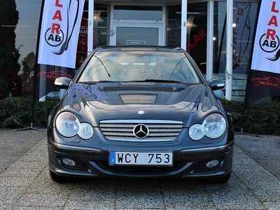begagnad Mercedes C230 C BenzKompressor Sportcoupé 5G-Tronic Sport 2004, Halvkombi 54 900 kr