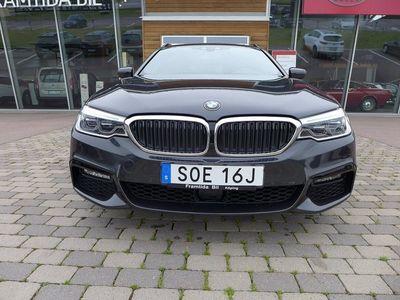 begagnad BMW 530 d Touring M-Sport Automat-Läder-Head up-Xenon-Dragkrok-En äg