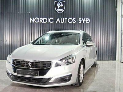 begagnad Peugeot 508 SW 1.6 BlueHDi EAT 120hk Euro 6 Automat