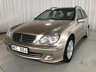 begagnad Mercedes C200 C-KlassKompressor Kombi W203