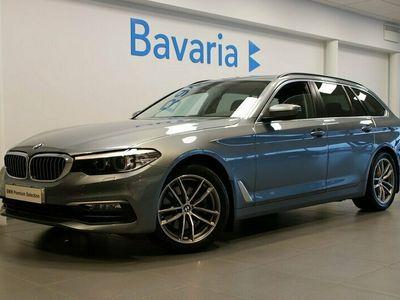 "begagnad BMW 520 d xDrive Touring Aut Sport Line 18"" Drag Nav"