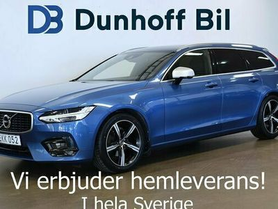 begagnad Volvo V90 D4 AWD Geartronic R-Design Polestar 200hk VOC
