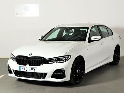 begagnad BMW 330 i Sedan M Sport Värmare Drag Connected Aktiv fartpilot 2019, Sedan 444 900 kr