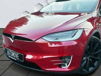 begagnad Tesla Model X 90D Dual MCU2 AP2,5 Free Charge 2017, Sedan Pris 749 900 kr